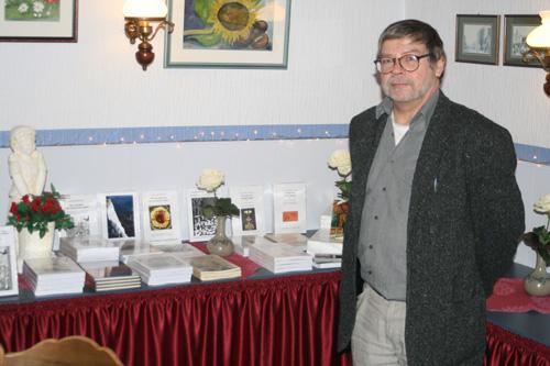 """Während der """"historischen Aktionstage zur Biike 2011"""" wurde am 20.2.2011 im Saal des Nordstrander Restaurants """"Kiefhuck"""" die rund 20 Norddeutschland-Titel aus dem Verlagsprogramm präsentiert"""